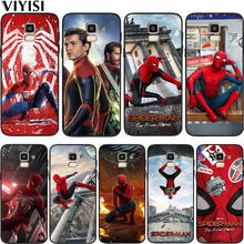 Phone Case Marvel Avengers Spider-Man For Samsung Galaxy S10 s8 S7 S9 J7 J4 J6 J8 Plus Note 8 9 Etui Coque Soft Silicone