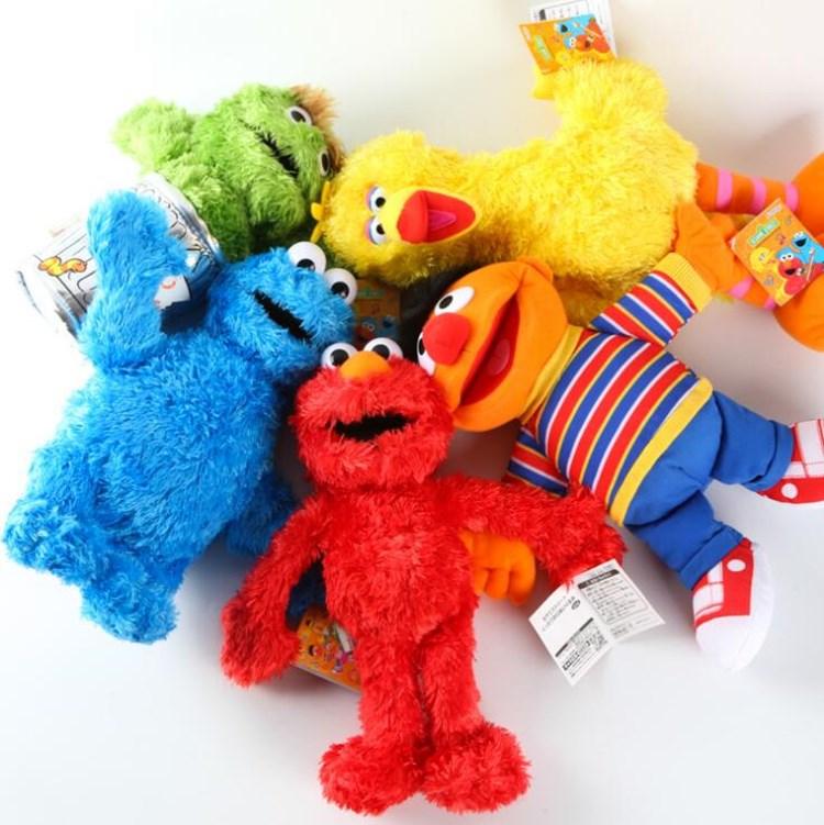 Sesame Street Elmo Big Bird Cookie Monster Oscar The