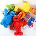 Sesame Street ELMO BIG BIRD COOKIE MONSTER OSCAR THE GROUCH ERNIE 33cm Plush Toys Cartoon Soft Stuffed Dolls Kids Gift