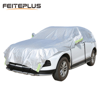 Customizable! Universal Aluminum Waterproof Seamless Sunshade Car Cover Half Covers Protection For BMW X1 X3 X4 X5 X6 X7