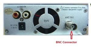 Image 3 - 1.5W/15W FM broadcast transmitter stereo PLL fm radio broadcast station with 87MHz 108MHz 100khz