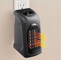 110V 220V Mini Electric Handy Plug In 400 W Heater Hand Warmer Wall Heater Hotel Kitchen