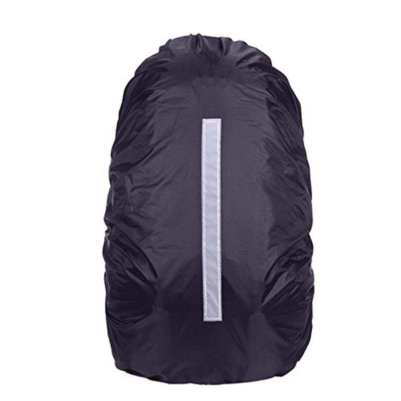 Waterproof Backpack Rain Cover With Reflective Strip For Night Outdoor Hiking Traveling Cycling Running