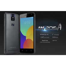 THL 2015A 5,0 zoll Android 5.1 4G Smartphone MT6735 Quad Core 1,3 GHz ROM 16 GB RAM 2 GB 2700 mAh 13.0MP Ledertasche geschenk
