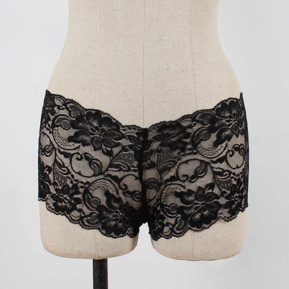 Sexy Meisje Hoge Taille G-string Korte Pantie Thong Lingerie Knicker Kanten Ondergoed Hoge Taille G-string Korte Lace Pantie # Y