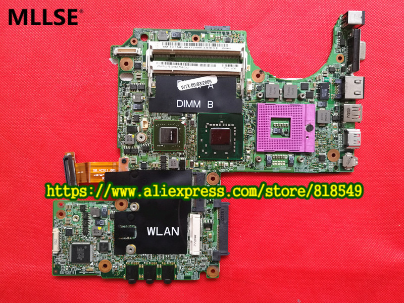 CN 0PU073 0PU073 Main Board Fit For DELL XPS M1330 Laptop Motherboard DDR2 G86 631 A2
