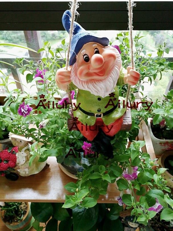 Livraison Gratuite American Village Nain Jardin Ornement Jardin