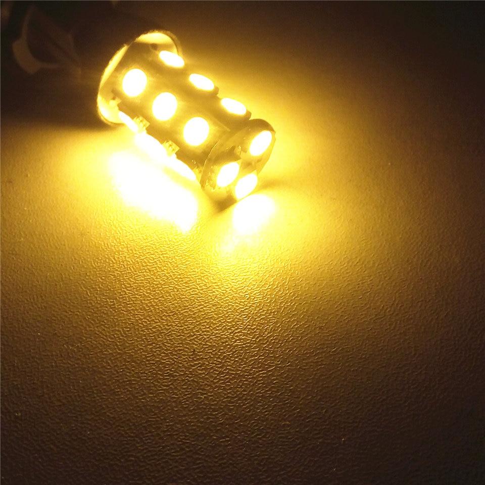 12V LED 자동차 전구 램프 P21W S25 / 1156 BA15s 뒤집기 - 자동차 조명 - 사진 4
