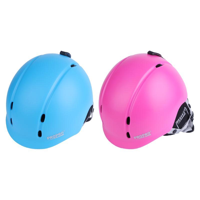 Outdoor 2 Colors Ski Helmet Child Sports Half Face Head Protection Integrally-molded Skateboarding Skiing Helmets цена