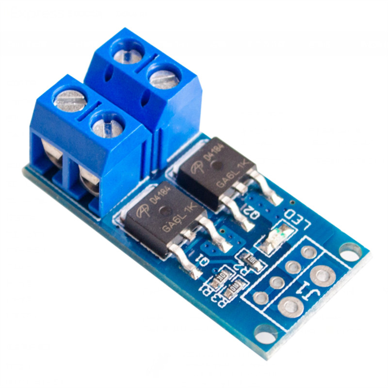 5Pcs High power MOS tube field effect transistor trigger switch driver module PWM regulating electronic switch control board