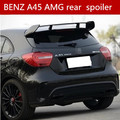 suitable for   Black /RED painted sports Car AMG rear Spoiler For M-B A180/A200/A250 A-CLASS  A45 Edition 1 W176 2013-2018