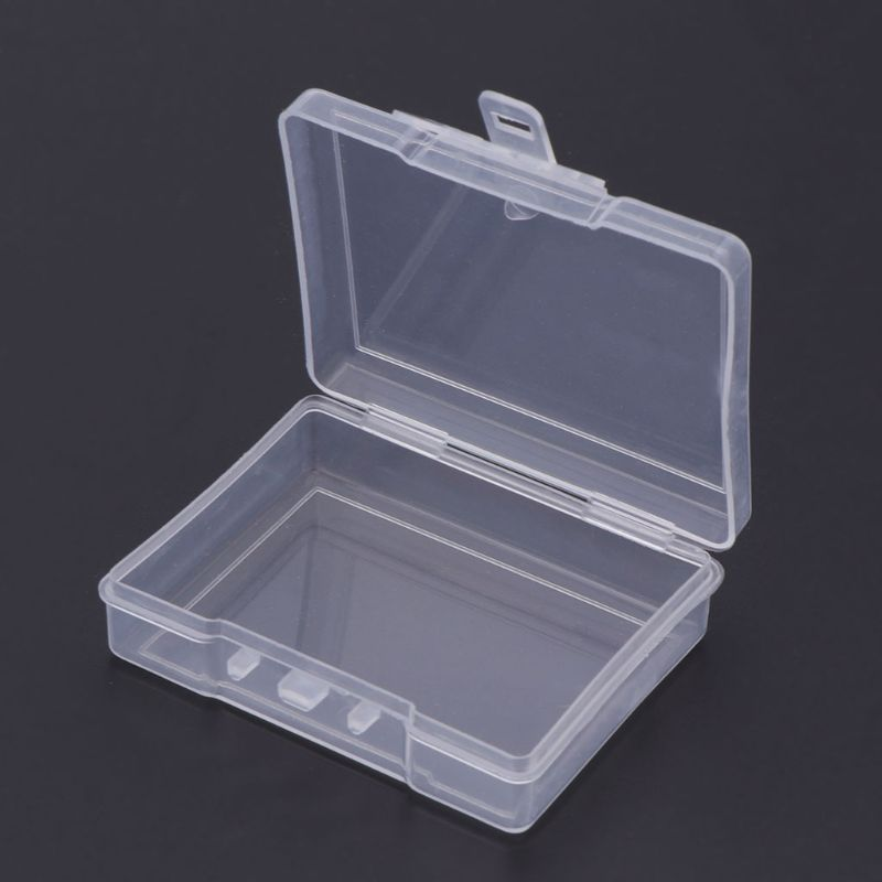 Lots of Fishing Bait Storage Box Lure Container Case Portable Transparent Tackle