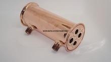 Tri-clamp 3 «(76 мм) OD91 Меди Dephlegmator/Рефлюкс