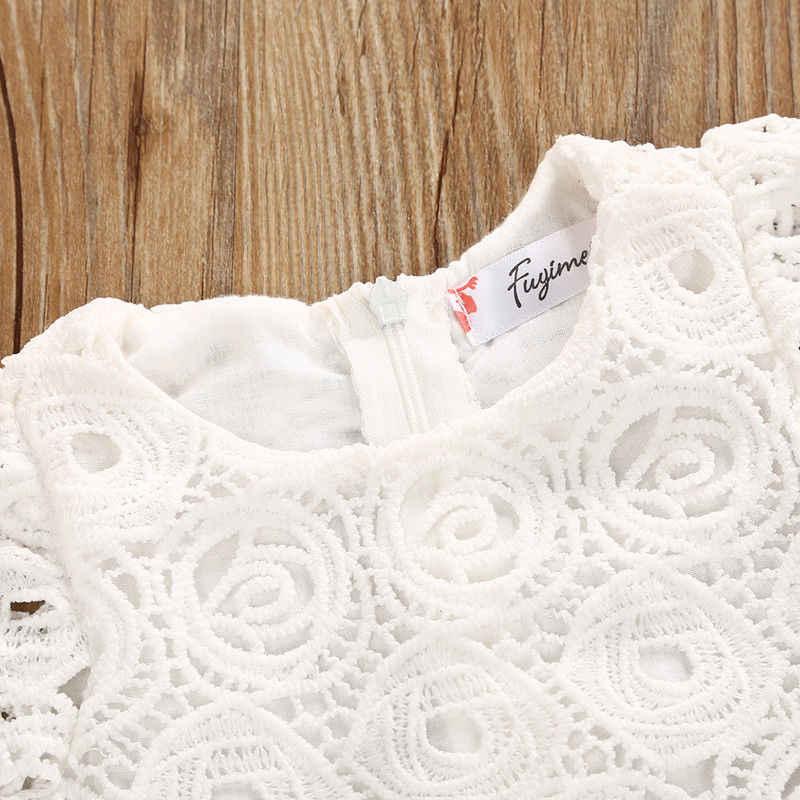 2018 marke Neue Neugeborenen Kleinkind Infant Baby Mädchen Kurzarm Floral Tutu Kleid Party Hochzeit Prinzessin Spitze Kleider Sommer Outfit