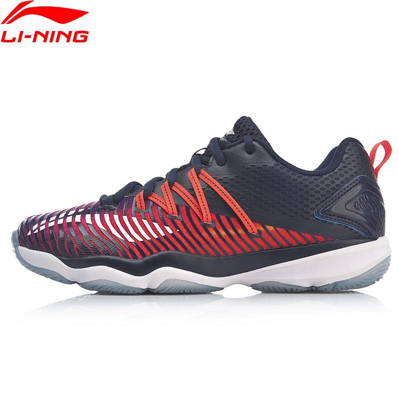 Li Ning Women RANGERTD Badminton Training Shoes Wearable Anti Slippery LiNing Stable Support Sport Shoes Sneakers