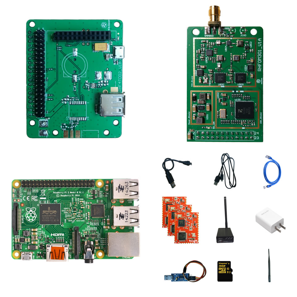 Para lpwan lorawan gateway sx1278lorawan kit de desenvolvimento sx1301