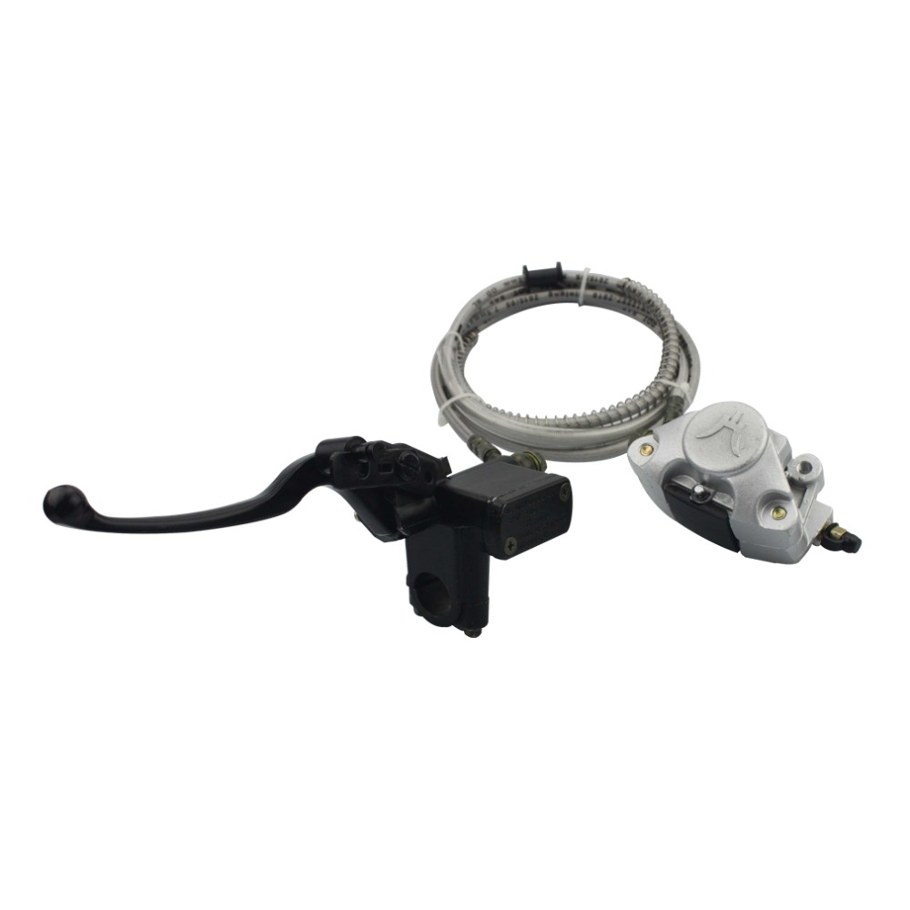 ФОТО  GOOFIT Rear Hand Disc Brake Assy for 110cc-250cc ATV & Scooter Rear Hand  C029-045