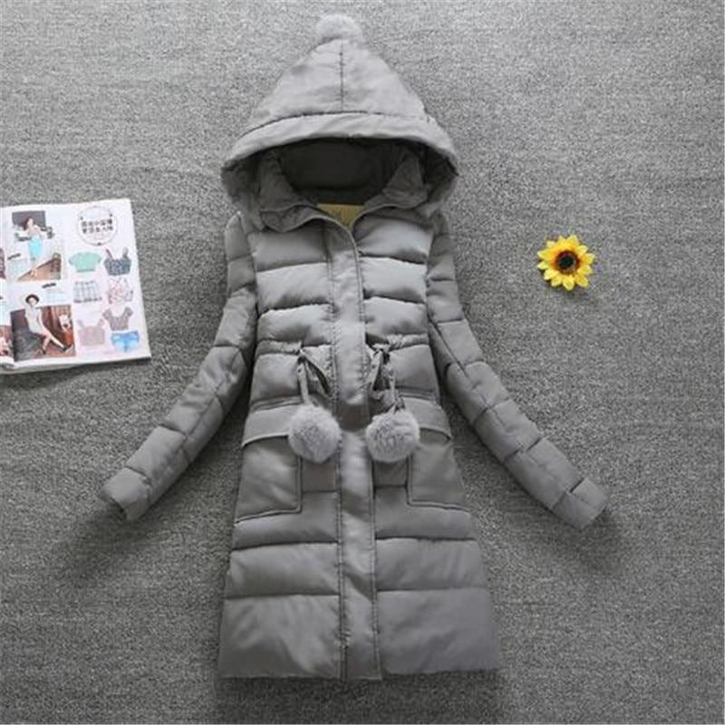 2018 Winter new arrival hooded women   down     coat   fur collar zippers long   down     coat   female warm winter women   down   jacket