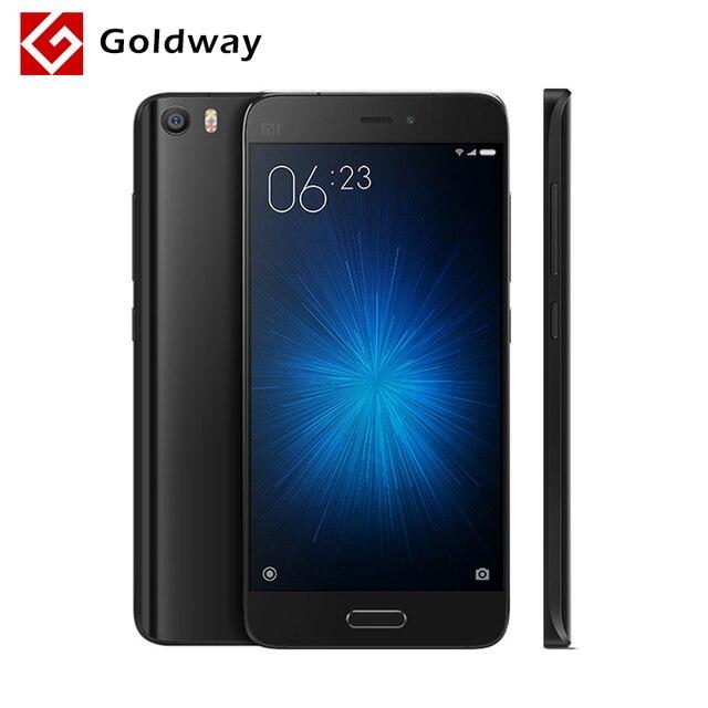 """Оригинал Xiaomi Mi5 M5 Mi 5 Мобильный Телефон Snapdragon 820 5.15 """"1920x1080 3 ГБ RAM 32 ГБ ROM 16MP Камера Отпечатков Пальцев ID Быстрая Зарядка"""