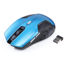 USB Wireless Mouse 6 Buttons Mice Gamer Optical Computer Gaming Mouse 2.4Ghz Receiver Mouse For Laptop Desktop