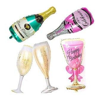 8Season 10pc Bachelorette Party Team Bride To Be Latex Balloon tattoo Hen Night Golden Bridal Shower wedding supplies