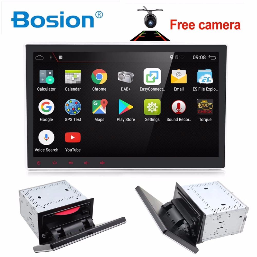 2Din 10.1 inch HD android 7.1 Quad core Universal Car Audio Stereo Video DVD Player GPS Navigation TPMS DAB 4G Car multimedia