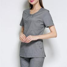 Срочный медицинский костюм для лаборатории, Женское пальто, больничная медицинская одежда, Униформа, модный дизайн, облегающая, дышащая