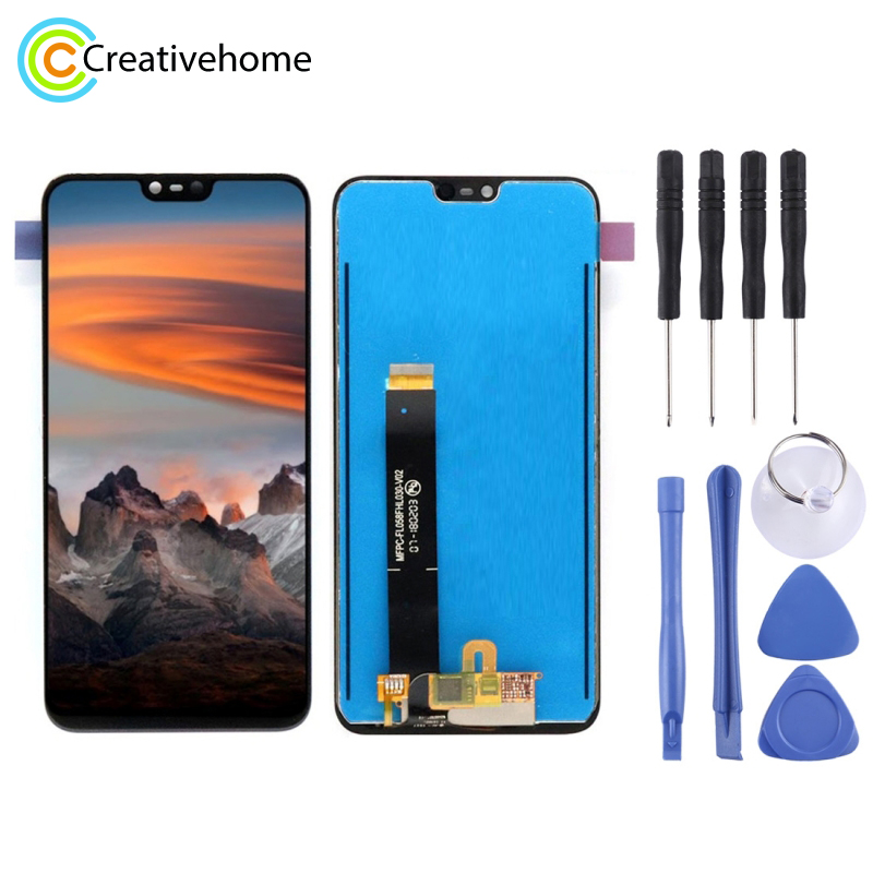 High Quality LCD Screen and Digitizer Full Assembly Lcd Replacement Glass For Nokia X6 (2018)High Quality LCD Screen and Digitizer Full Assembly Lcd Replacement Glass For Nokia X6 (2018)