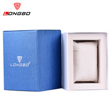 Relogio Masculino Top LONGBO Brand Clock Watch Box Men Women Dress Luxury Gift Box Watch Men Sport Relogio Feminino Reloj Mujer