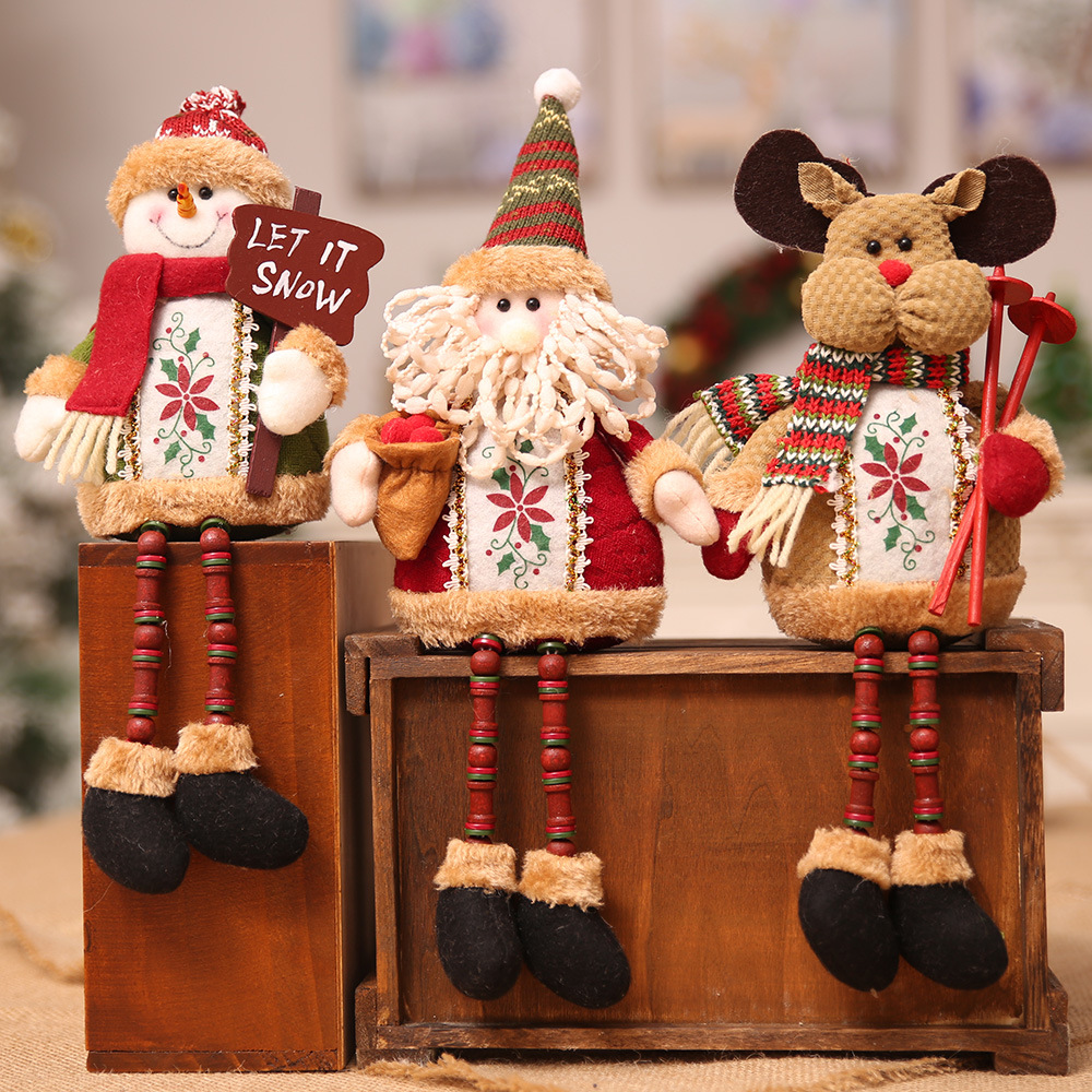 Aliexpress Buy Christmas Santa Claus Elk Snowman Toy