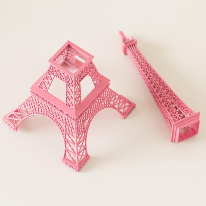 Romantik Mobel Dekoration   Romantic Pink France Paris Eiffel Tower Model Decoration Decoration