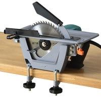 7 inch 8 inch 9 inch home portable woodworking saw circular saw flip electric table saw disc saw cutting machine
