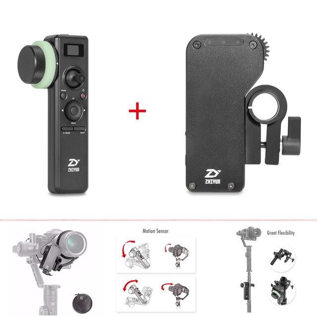 Zhiyun Crane 2 Servo Follow Focus for Canon Nikon All Cameras + Crane 2 2.4GHz Motion Sensor Remote Control with Follow Focus стедикам zhiyun crane 2 v3 servo follow focus