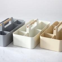 Creative coffee table living room desktop remote control storage box Simple plastic cosmetic finishing