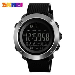 Image 2 - SKMEI אופנה Bluetooth ספורט שעונים גברים נשים דיגיטלי שעון זוג הודעה שיחת תזכורת מזדמן אלקטרוניקה זכר שעון reloj