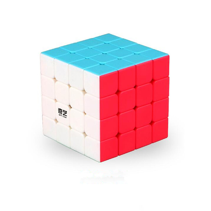 1Pcs 4x4x4 Puzzle Magic Cube 62 mm Speed Sticker Less Educational Anti Stress Reliever Cubes Toys