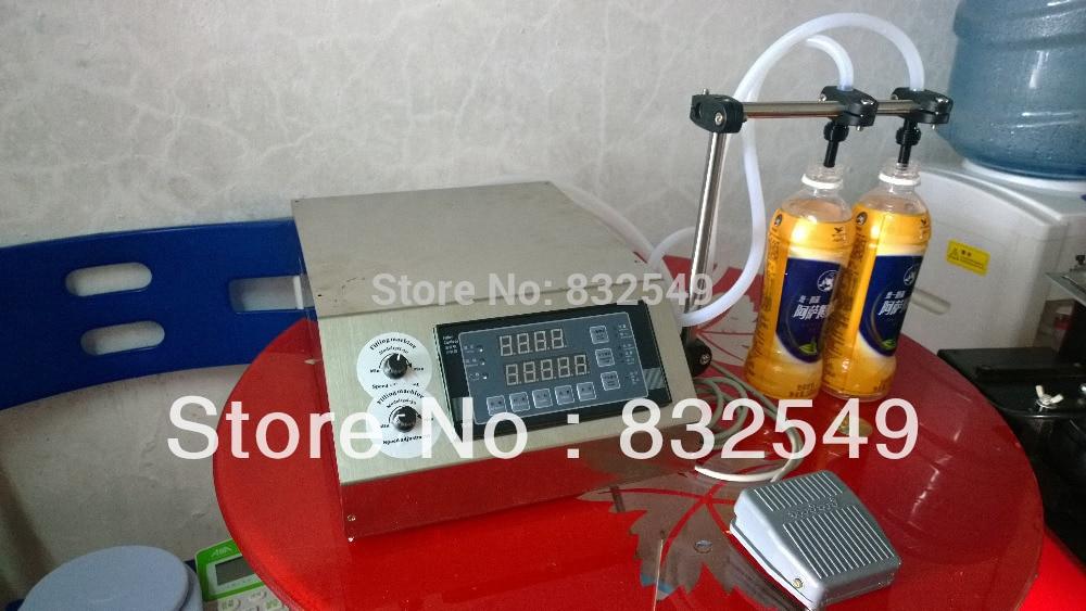 Microcomputer liquid filling machine, automatic liquid filler ,spring beverage filling machine for quantitative 3-4000ml/min small bottle filling machine