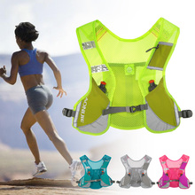 AONIJIE Premium Reflective Running Vest Give Sport Water Bottle for Cycling Clothes Women Men Safety Gear Gym Bag