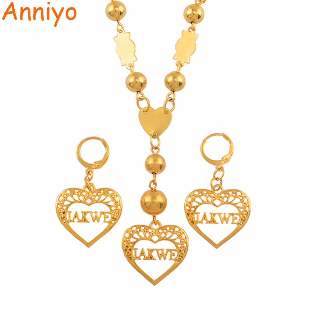 Anniyo Iakwe Jewelry Sets...