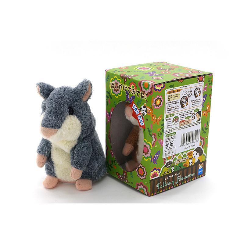 Original Russian Recording Of The Talking Hamster Rodent Authentic High-quality Talking Toys For Children Interactive Toys