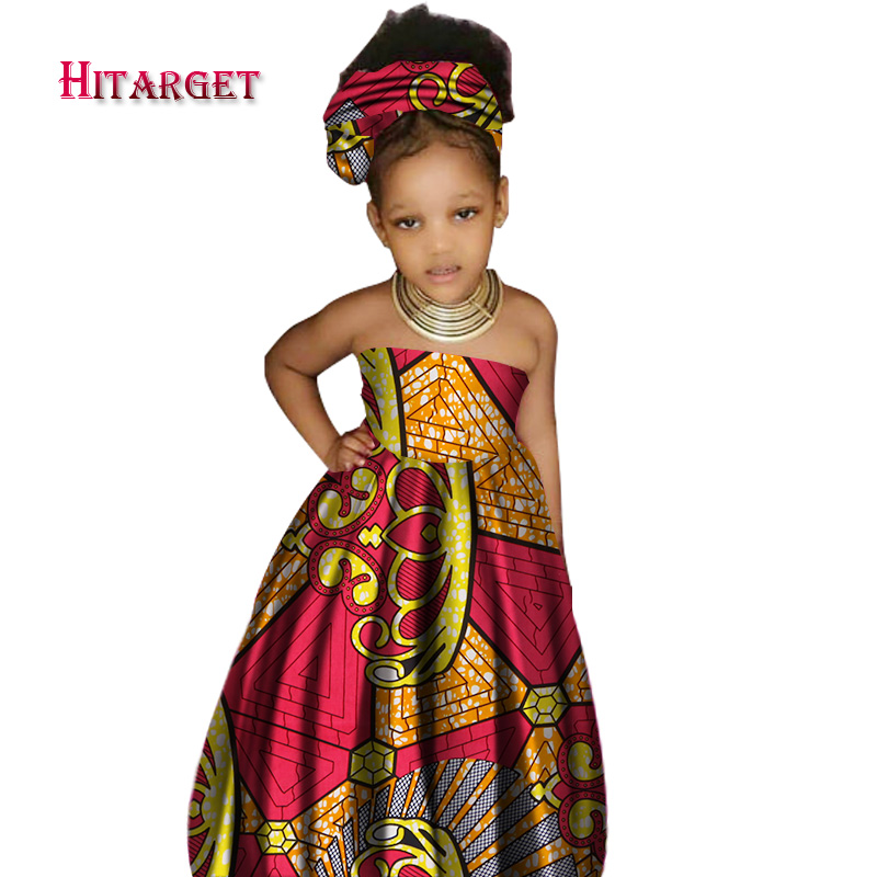 2017 African Kid's Clothing Girl's Dashiki Traditional 10%