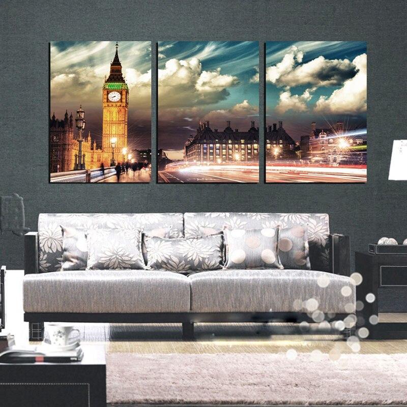 ᐊГородской пейзаж стены Книги по искусству 3 предмета ...