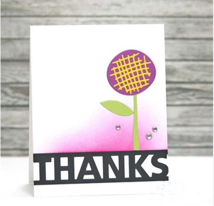 HELLO BABY спасибо вечерние LUCKY LOVE счастливые письма узор резки металла умирает трафарет Скрапбукинг тиснение для Бумага карты DIY