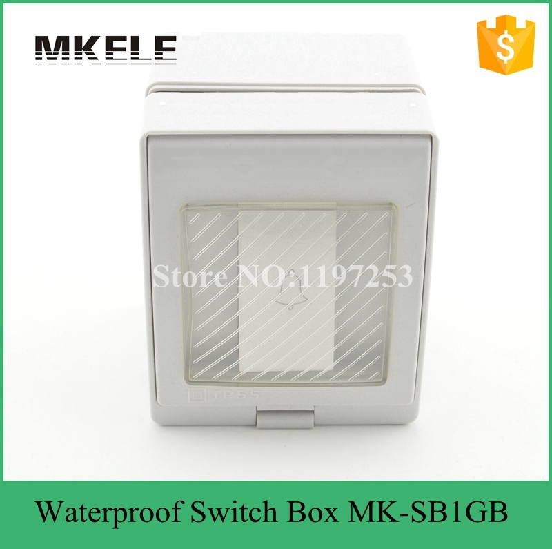 MK-SB1GB Newest high quality low price wall mount waterproof door bell switch 10A 250V waterproof 1 Gang bell push switch new original ifs204 door proximity switch high quality