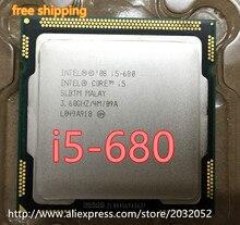 Dla intel core i5 i5-680 i5-680 680 procesor cpu (4 m cache, 3.6 GHz) Procesor Pulpitu LGA 1156 100% działa prawidłowo