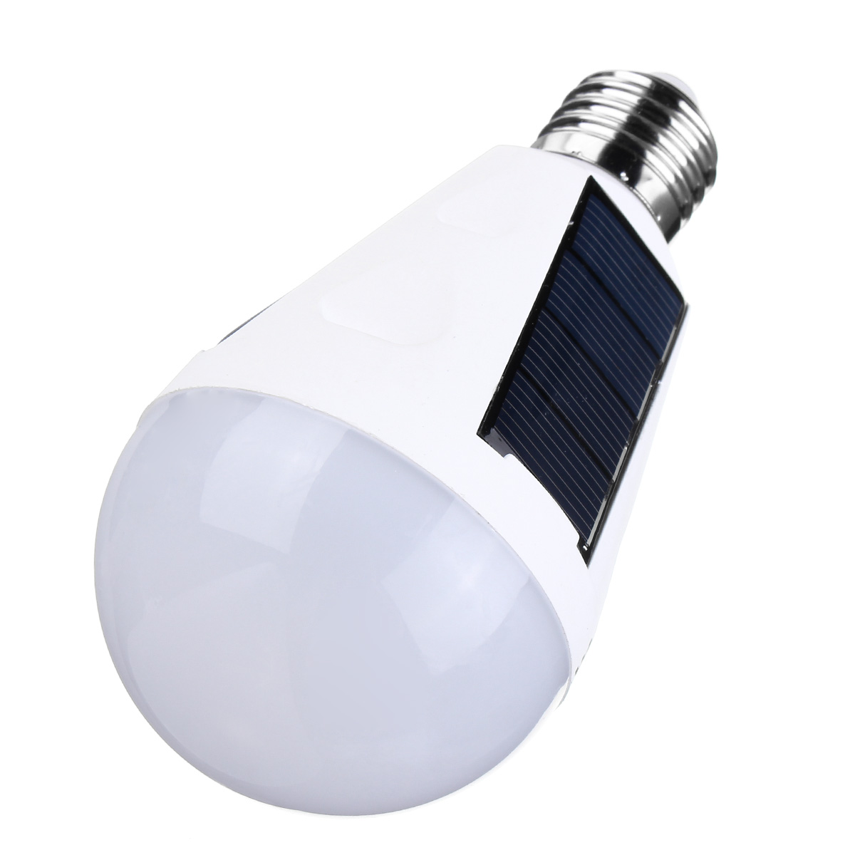 Solar Panel Powered LED Bulb Light Portable Outdoor Garden Camping Tent Lamp 7W