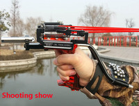 Judge G5 Slingshot Hunting Powerful Catapult Camouflage Military Panther Stainless Steel Fish Sling Shot With Arrow