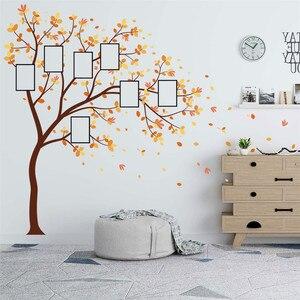 Image 4 - 家族写真 Diy の写真の木携帯クリエイティブ壁貼付装飾壁のステッカー窓 DecorRoom カールポスター