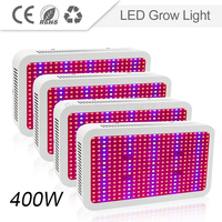 4pcs Lot 400W Full Spectrum Led Grow Light Lamp For Indoor Greenhouse Plants Flower Vegetables Hydroponic