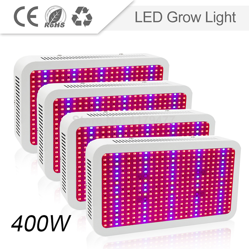 4pcs/lot 400W full spectrum led grow light lamp for indoor greenhouse plants flower vegetables Hydroponic system free DHL/FedEx стоимость